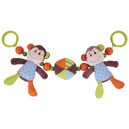 Bigjigs Baby Cheeky Monkey Pram String